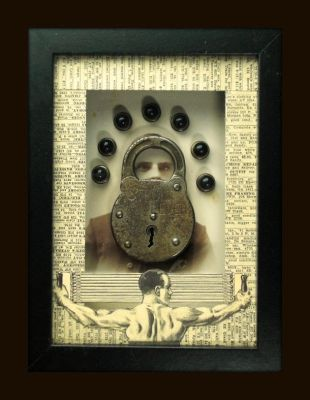 Mixed Media Assemblage 200 by GregPDX