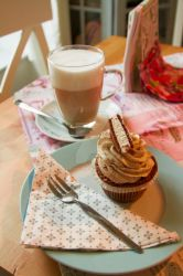 Cupcake and Coffee by Corvin0