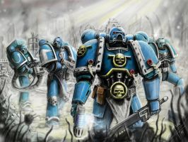 Ultramarines: You will never walk alone by HrvojeSilic