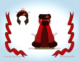 December Angel Paper Doll - Outfit 2 by juliematthews