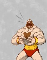 angry zangief by Anny-D