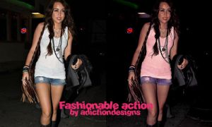 Fashionable action by adictiondesigns