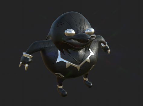 Wakandan Knuckles by Kondor0
