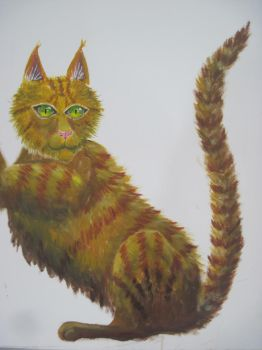 [No References Used] Cat WIP by MenollySagittaria