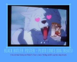 Pluto 3 - Black Butler Poster by AnnieSmith