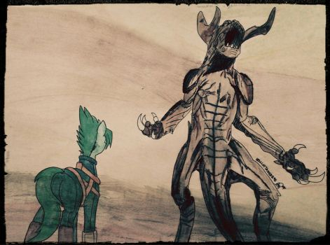 Deathclaw Fallout 4 by HellcatKampfer95