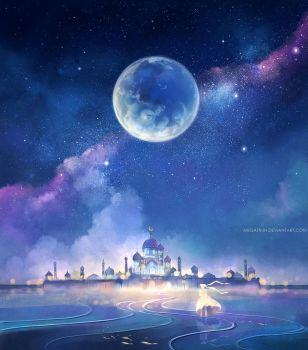 the moon kingdom by megatruh