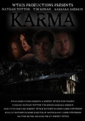Rodney Petrie's KARMA - Official Movie Poster by rodvcpetrie