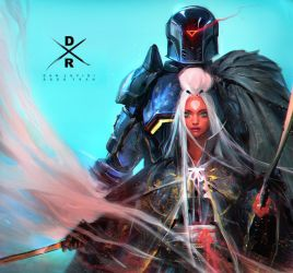 Gabriel and Nima (COLLAB!) YouTube! by rossdraws
