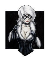 The Allure Of The Black Cat by BigChrisGallery