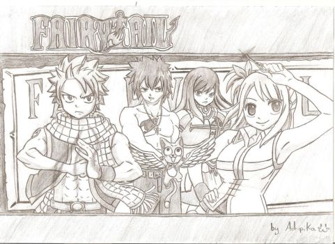 Fairytail rules!! by Adripika