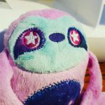 Cosmic Space Sloth Plushie by Slothie-Studios