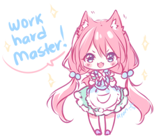 Work Hard Master! by Hyan-Doodles