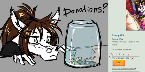 Donate? by Sunny125