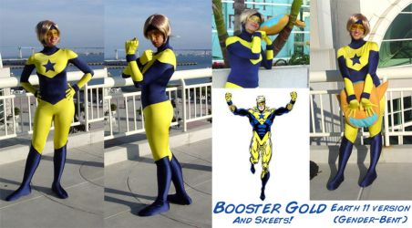 Booster Gold Costume by Demyrie