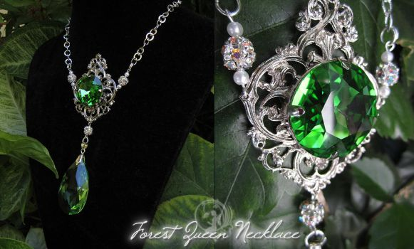 Forest Queen Necklace by Firefly-Path
