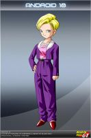 Dragon Ball GT - Android 18 by DBCProject