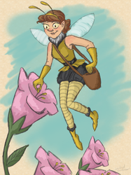 Honey Fairy by Blondbraid