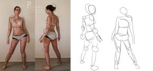 Character Design: Gesture Drawing by pipipipiguo