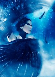 The Black Swan by Saphica8