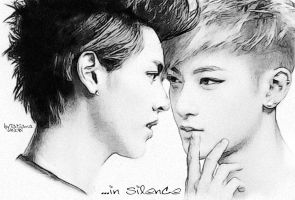 Tao and Kris (EXO) by miobitat