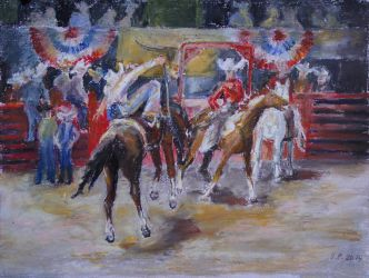 Texan Rodeo by BarbaraPommerenke