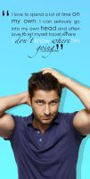 Gerard Butler - On My Own by monstaccato
