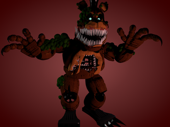 Twisted Freddy test by luizcrafted