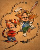 Tiger and Rabbit by Tatsumi-sama