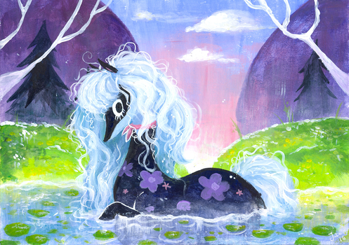The Primadonna's Horse by miikanism