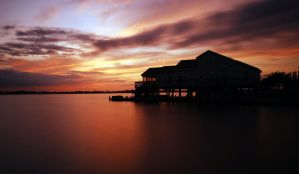 Sunset Porch by Enkphoto