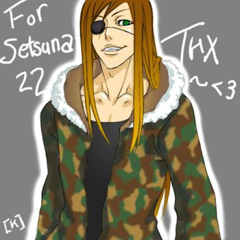 Badou says THANKS by MKage