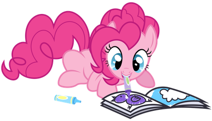 Pinkie Pie - Coloring by thatguy1945