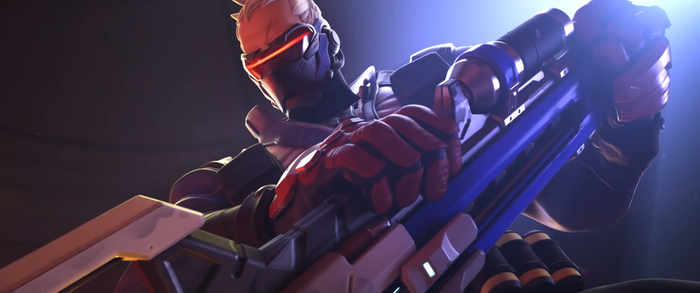 Soldier76 - Overwatch by PlanK-69