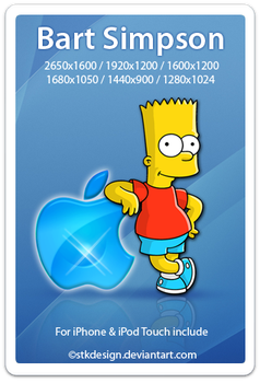 Bart Simpson by stkdesign