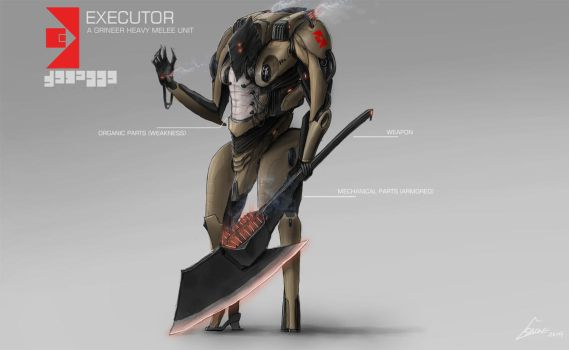 THE EXECUTOR,A enemy concept art by nobody00000000