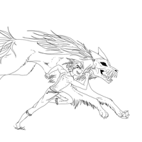 Running with the wolves by Ipku