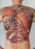 phoenix backpiece in progress... by graynd