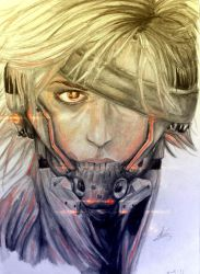 Raiden - Metal Gear Solid by britolitos96