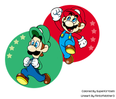 Super Mario Brothers by Zieghost