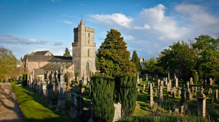 Stirling Old Town Cemetery by BusterBrownBB