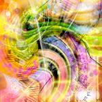 QUARK EXPRESS ABSTRACT ART by popartdiva