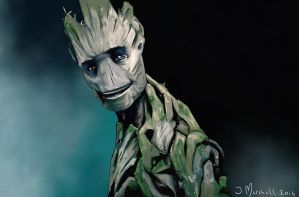 Guardians of the Galaxy - Groot by soapmak3r