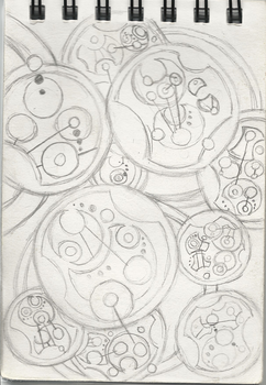 Day 22 of my Journal Written in Gallifreyan by sirkles