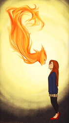 you light the spark in my bonfire heart by suzanami