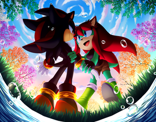 Commission: Shadow and Viki by Myly14