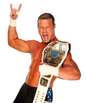 Dolph Ziggler Intercontinental Champion Render by ShowingOffArts