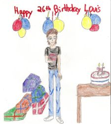 Happy 26th Birthday Louis by Namine24