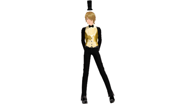 {MMD} Bill Cipher Vers2 by percephine