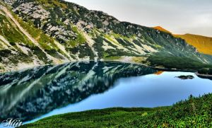 Mountain pond - Tatry by miirex
